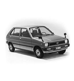 Manual De Taller Subaru Rex (1981-1986) Inglés