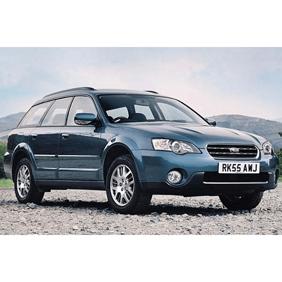 Manual de Taller - Subaru Legacy Outblack ( 2003 - 2009 ) en español