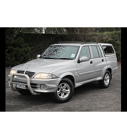 Manual De Taller Ssangyong Musso Sports (2002-2005) Español
