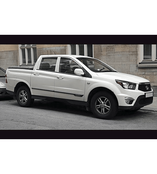 Manual De Taller Ssangyong Actyon Sports (2012-2019) Ingles