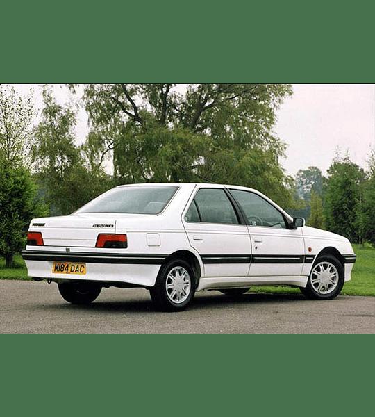 Manual De Taller Peugeot 405 (1987-1997) Español
