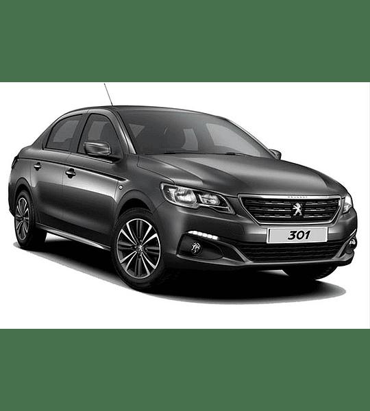 Manual De Taller Peugeot 301 (2012-2017)  Inglés