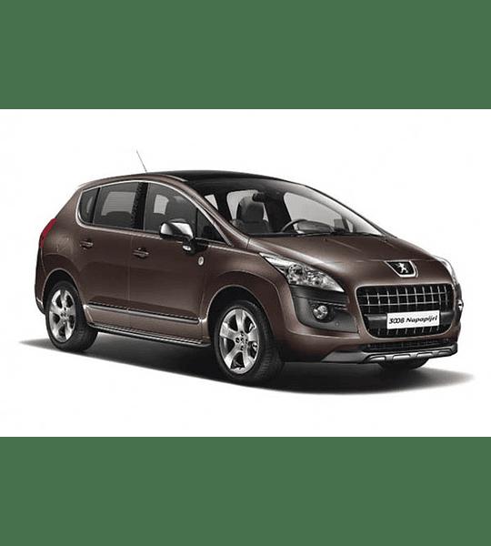 Manual De Taller Peugeot 3008 (2008-2016) Inglés
