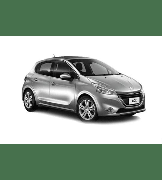 Manual De Taller Peugeot 208 (2012-2018) Inglés