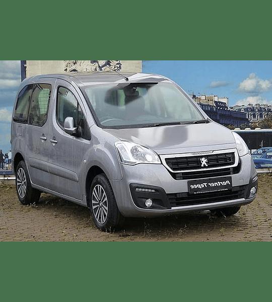Manual De Taller Peugeot Partner (2008-2017) Inglés