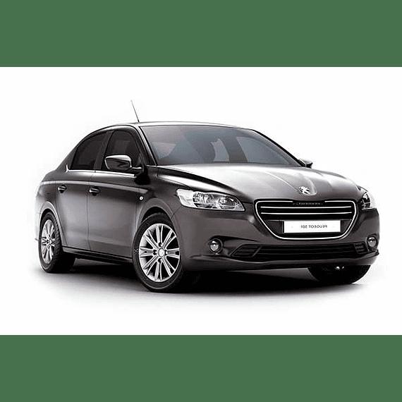 Manual De Despiece - Peugeot 301 ( 2012 -2018 ) En Español