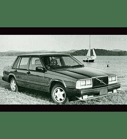 Manual de Taller Volvo 740 ( 1984 - 1992 ) en inglés