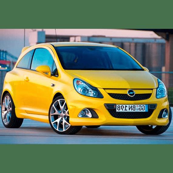 Manual De Taller Opel Corsa ( 2006 - 2010 ) Inglés