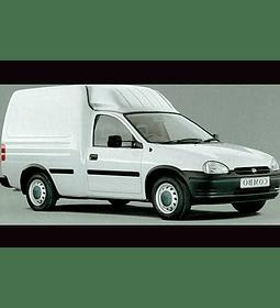 Manual De Taller Opel Combo (1993-2001) Español