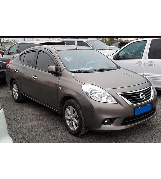 Manual De Taller Nissan Versa (2011-2017) En Español