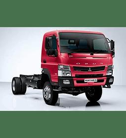 Manual De Taller Mitsubishi Fuso Canter (2012-2017) Español