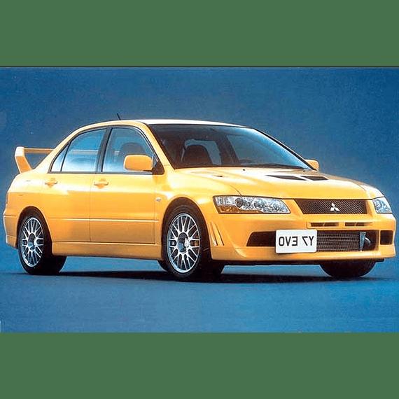 Manual De Taller Mitsubishi Evo Vii (2001-2003) En Español