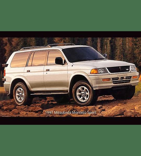 Manual De Taller - Mitsubishi Montero Sport ( 1997 - 1999 ) Inglés