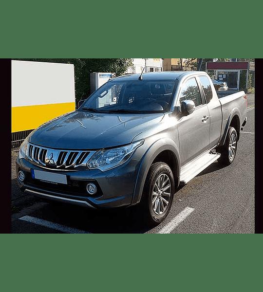 Manual De Taller Mitsubishi L200 (2015-2018) Inglés
