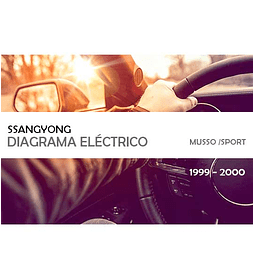 Diagrama Eléctrico Ssangyong Musso / Sports ( 1999 - 2000 )