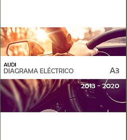 Diagrama Eléctrico Audi A3 ( 2013 - 2020 ) en inglés