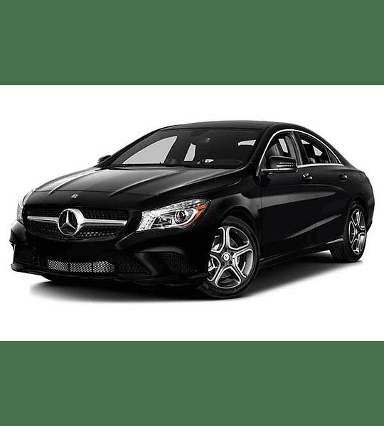 Manual De Despiece Mercedes Benz Cla 2013-2017 Español