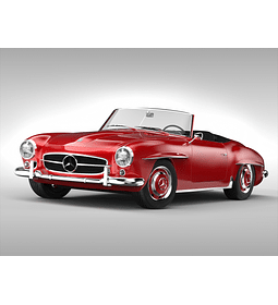 Manual De Despiece Mercedes Benz 190 SL (1955–1963 ) Español