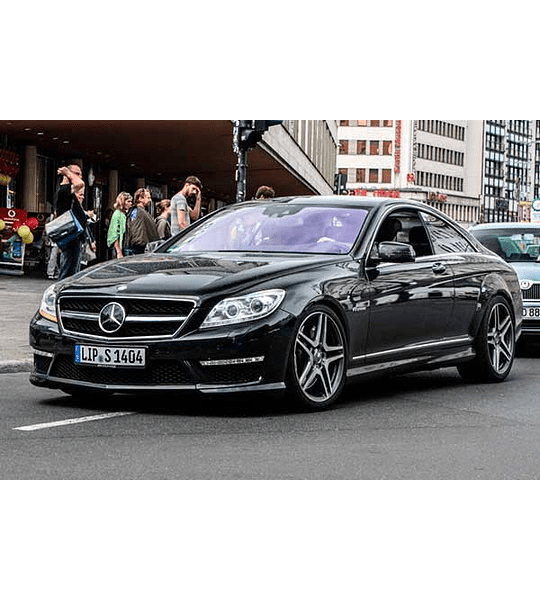 Manual De Despiece Mercedes Benz C216 (2006 - 2014 ) En Español