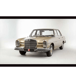 Manual De Despiece Mercedes Benz W108 (1965 - 1972 ) En Inglés