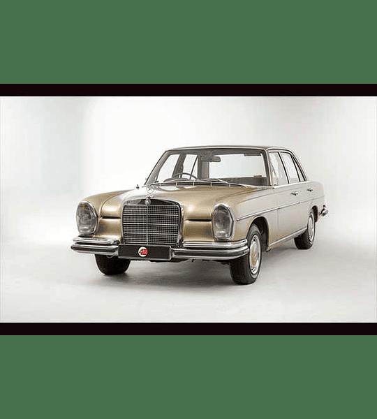 Manual De Despiece Mercedes Benz W108 (1965 - 1972 ) En Inglés