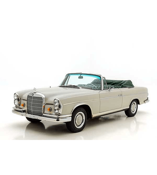 Manual De Taller Mercedes Benz W112 (1961–1967) Ingles
