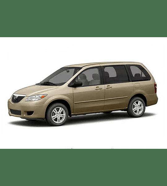 Manual De Despiece Mazda Mpv (2006-2016) Español