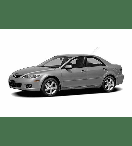 Manual De Taller Mazda 6 ( 2002 - 2007 ) En Inglés