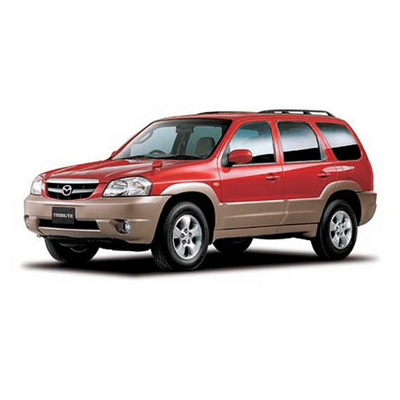 Manual De Taller Mazda Tribute (2000 - 2007) En Español