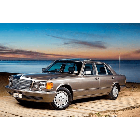 Manual De Taller Mercedes Benz W126 ( 1979-1991 ) Español