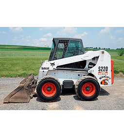 Manual De Taller Bobcat S220 Inglés