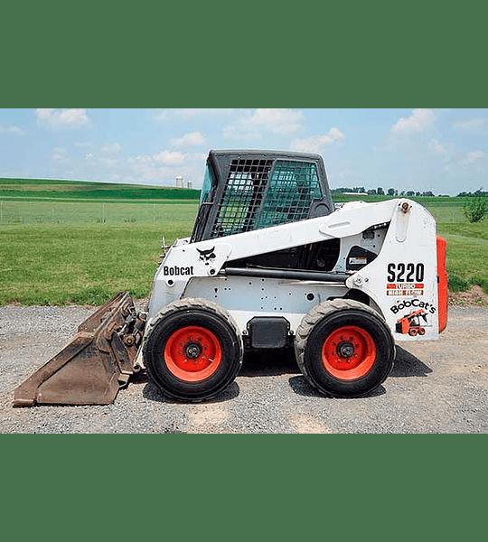 Manual De Taller Bobcat S220 Inglés