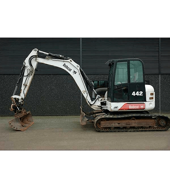 Manual De Taller Bobcat 442 Inglés