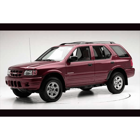 Manual De Taller Isuzu Rodeo (1998-2004) Español