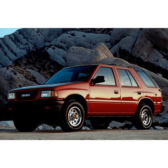 Manual De Taller Isuzu Rodeo (1989-1998) Español