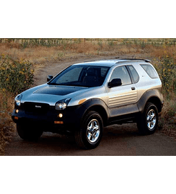 Manual De Taller Isuzu Vehicross (1997-2001) Ingles