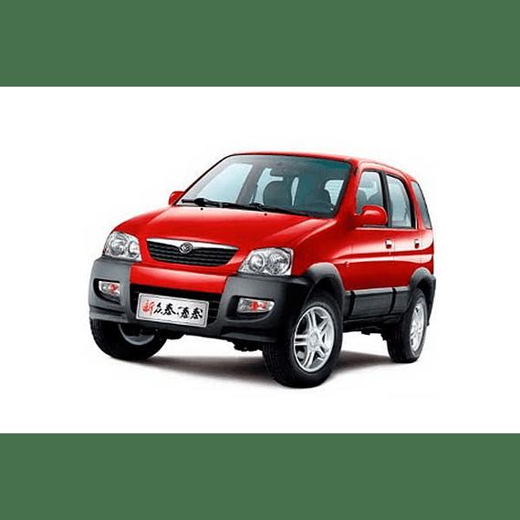 Manual De Usuario Zotye Auto Hunter (2007-2017) Ingles