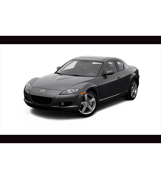 Manual De Taller Mazda RX8 (2002–2008) Español