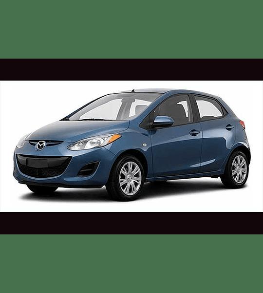 Manual De Taller Mazda 2 (2007–2014) Ingles