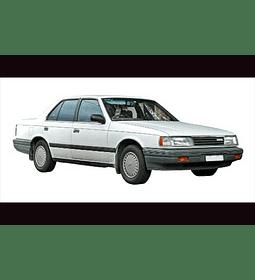 Manual De Taller Mazda 929 (1986–1991) ingles