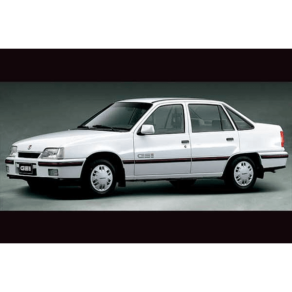 Manual De Taller Daewoo Racer (1994-1997) Español