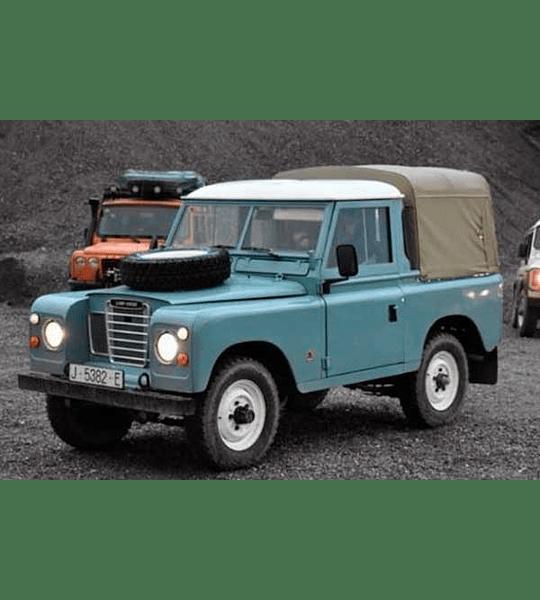 Manual de Taller Land Rover Series 2, 2A, 3 ( 1959 - 1978 ) Inglés