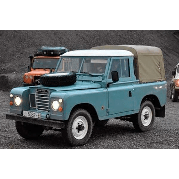 Manual de Taller Land Rover Series 2, 2A, 3 ( 1959 - 1978 ) Inglés