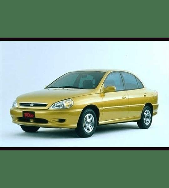 Manual De Taller Kia Rio (2000-2005) Español