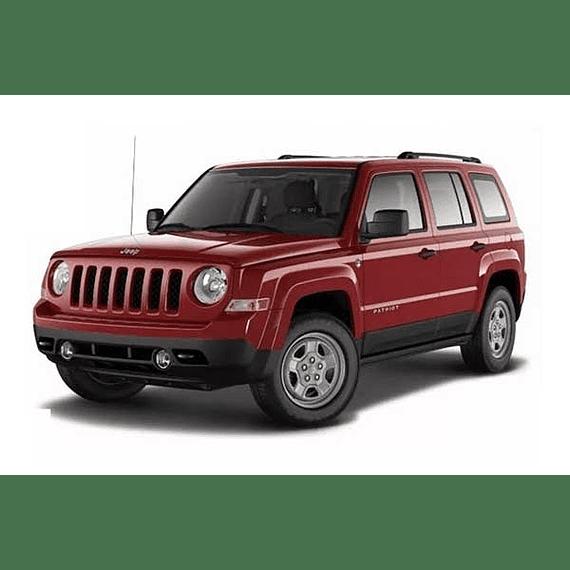 Manual de Taller -  Jeep Compass & Patriot ( 2007 - 2016 ) inglés