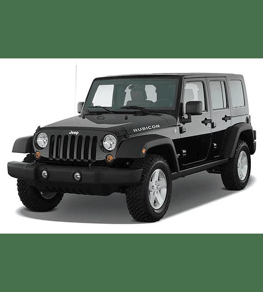 Manual de Taller Jeep Wrangler JK ( 2010 ) Inglés