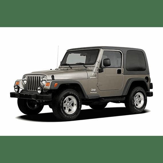 Manual De Taller Jeep Wrangler (2006 -2018) Español