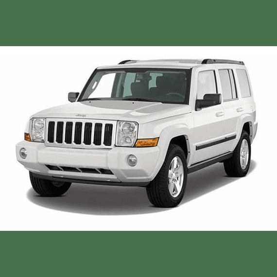 Manual De Taller Jeep Commander (2006-2010) Inglés