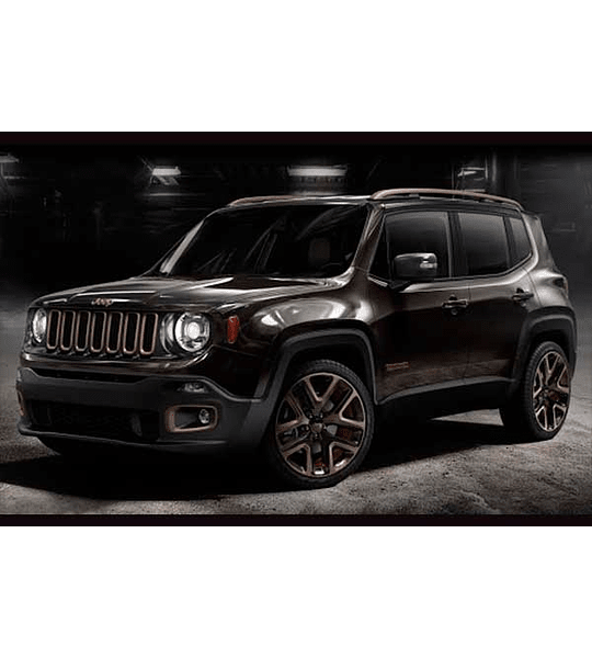 Manual De Taller Jeep Renegade (2014 -2018) Inglés