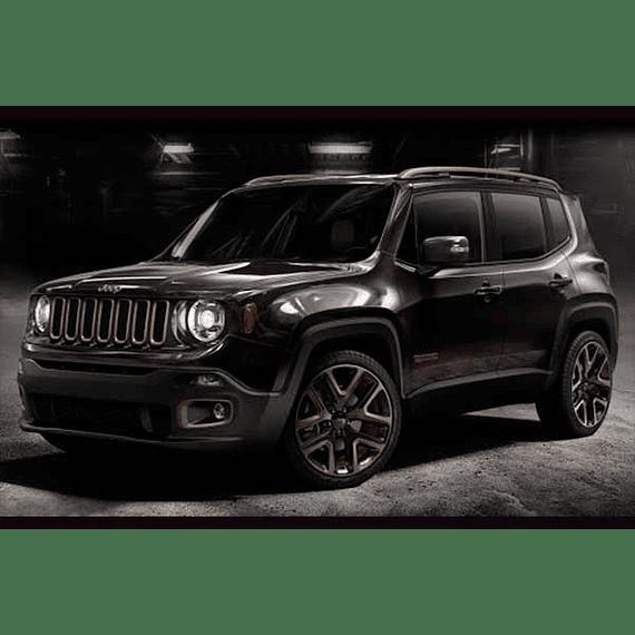 Manual De Taller Jeep Renegade (2014 -2018) Inglés